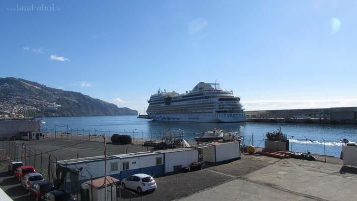 Madeira Funchal Hafen Liegeplatz