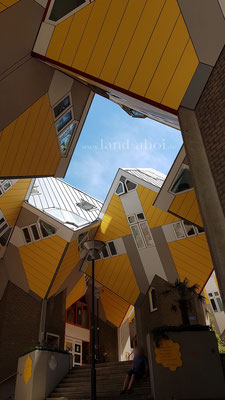Rotterdam Kubushäuser Innenhof