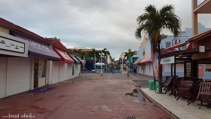 Antigua Shops an den Liegeplätzen