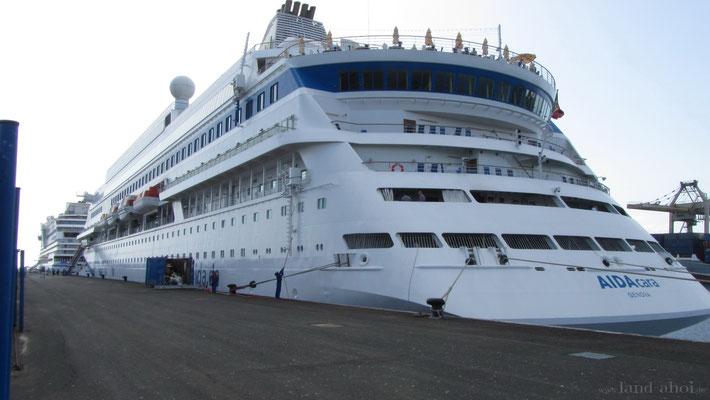 Arrecife Kreuzfahrt Hafen Liegeplatz