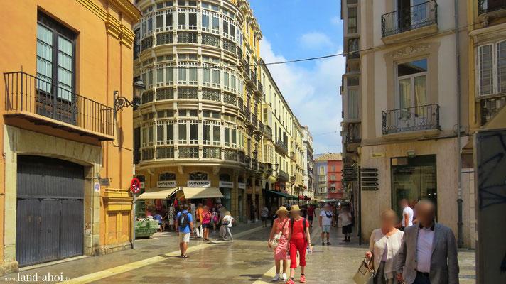 Malaga Stadtzentrum