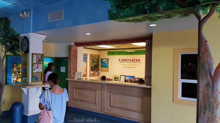 Grenada Touristen Information im Cruise Terminal