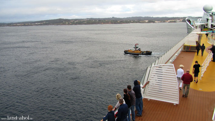 A Coruna Hafen