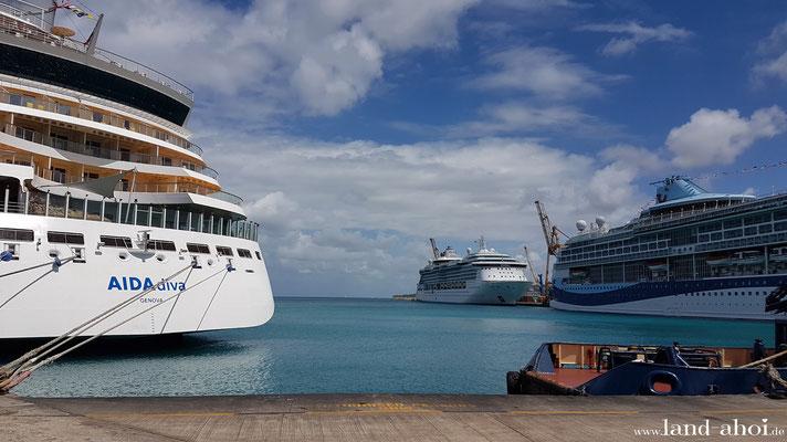 Barbados Hafen Liegeplätze