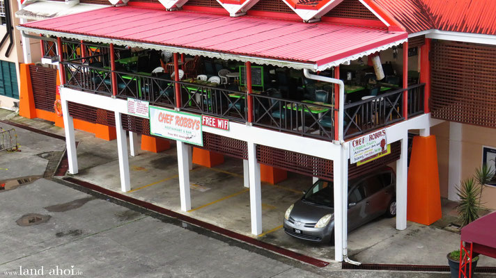 Castries Queen Elisabeth II Dock Restaurant