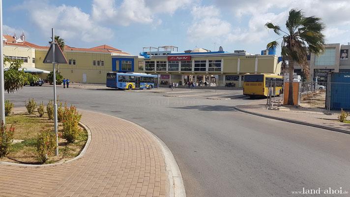 Aruba Oranjestad Busbahnhof