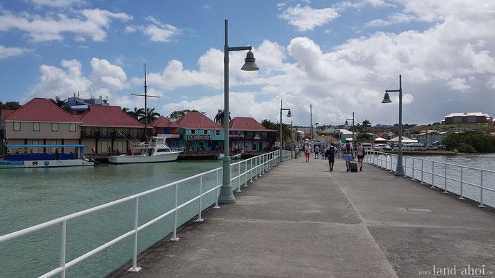 Antigua Kreuzfahrthafen