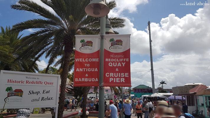 Antigua am Hafen