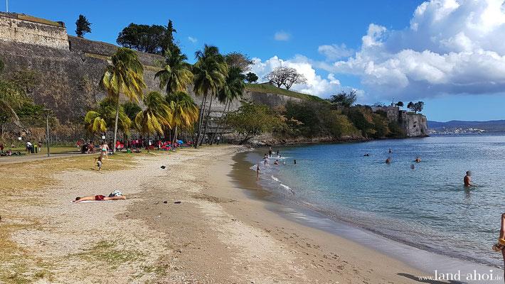 La Francaise Beach mit Festung