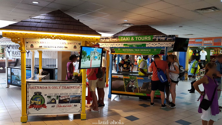 Grenada Cruise Terminal Ausflugsanbieter