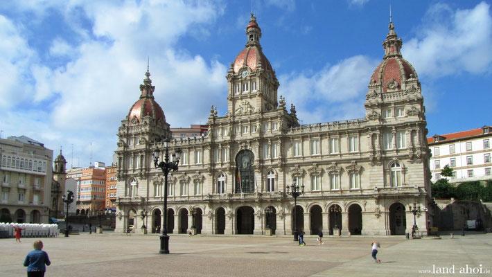 Rathaus am Plaza de Maria Pita