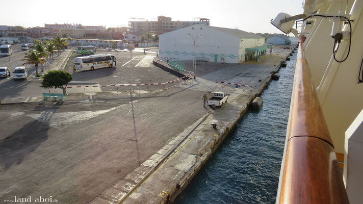 Aruba Oranjestad Liegeplatz