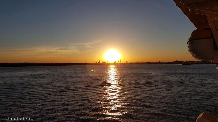 Southampton Hafen