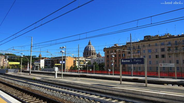Bahnstation Roma San Pietro