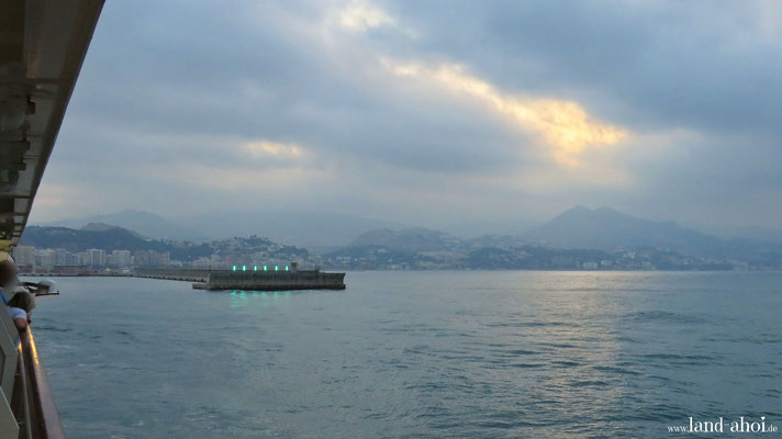 Malaga Hafeneinfahrt