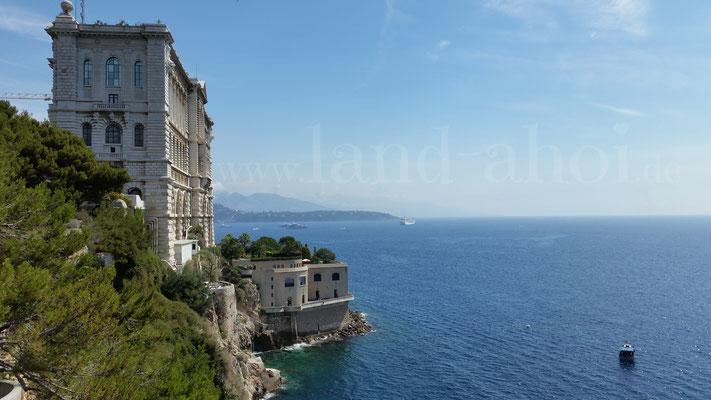 Monaco Blick zum Ozeanographischen Museum