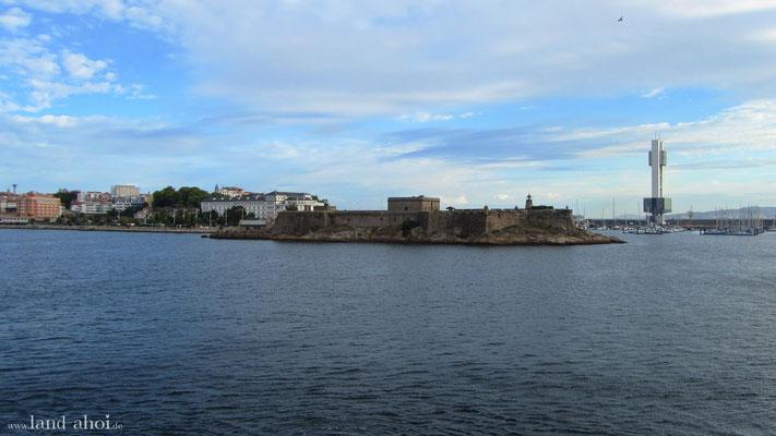A Coruna Castell San Anton