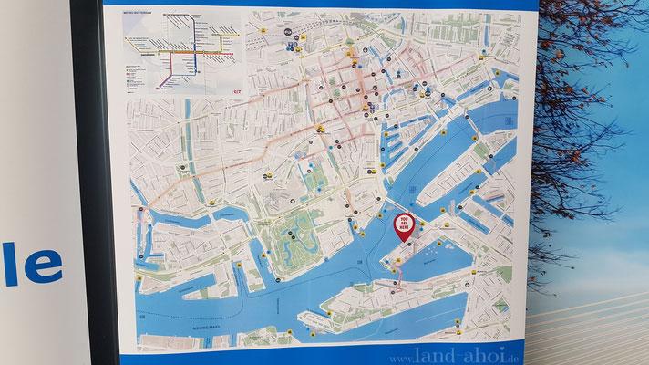 Rotterdam Liegeplatz Kreuzfahrtterminal