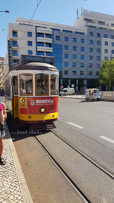 Lissabon Straßenbahn 28E