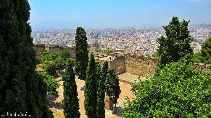 Malaga Burg Gibralfaro
