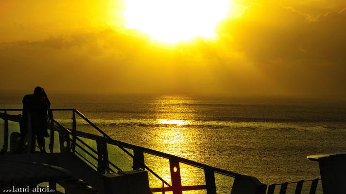 Grenada Liegeplatz am Abend