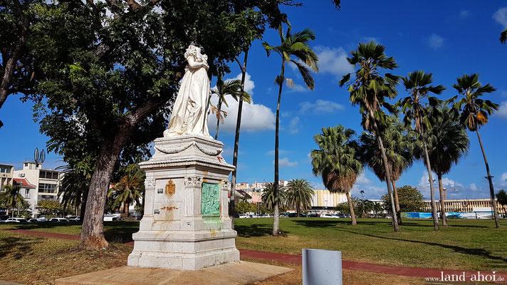 Denkmal der ehemaligen Kaiserin