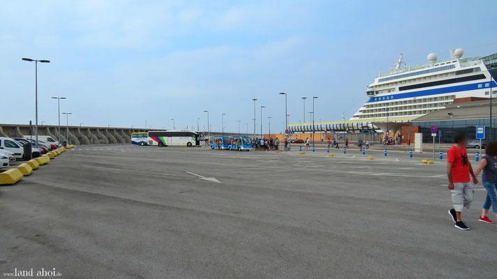 Malaga Cruise Terminal Hafen Shuttle