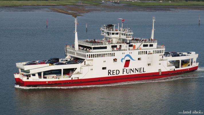 Southampton Red Funnel Fähre