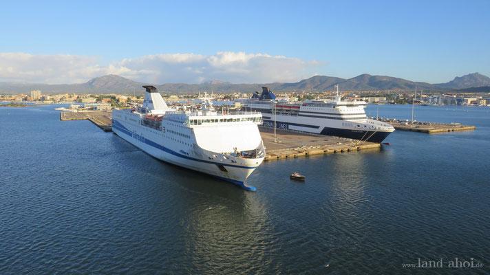 Olbia Hafen