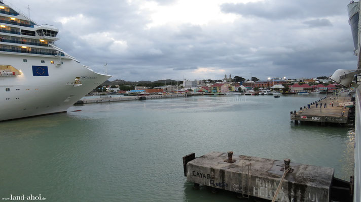 Antigua Kreuzfahrt Hafen