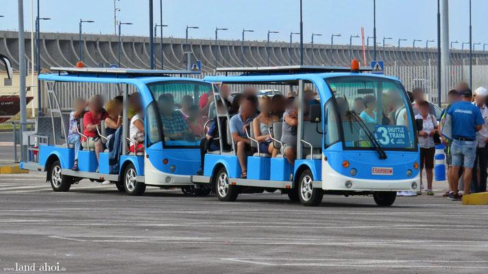 Malaga Cruise Terminal Port Shuttle
