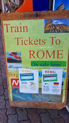 Kiosk für das BIRG Ticket