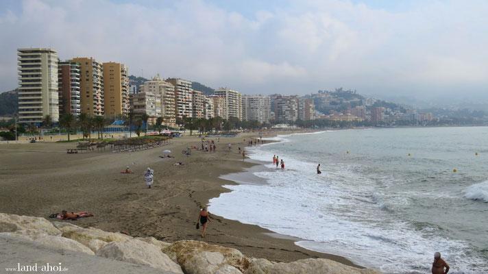 Malaga Playa la Malagueta