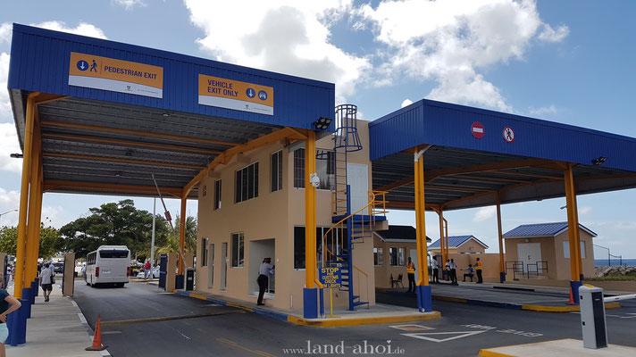 Barbados Hafenzugang