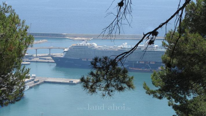 Barcelona  Hafen Liegeplatz