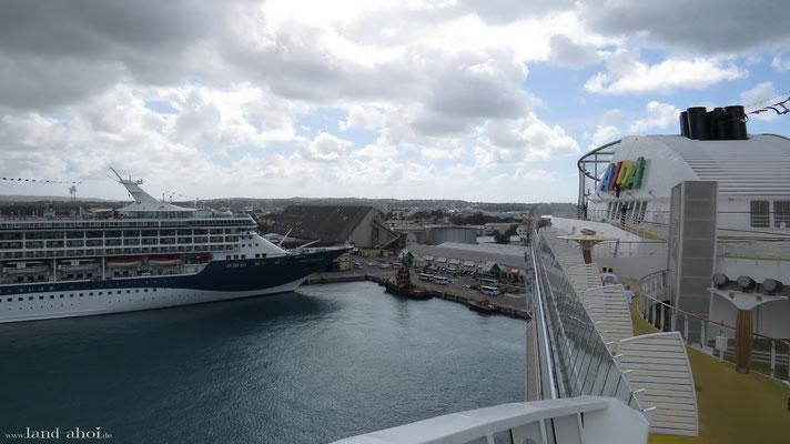 Barbados Hafen