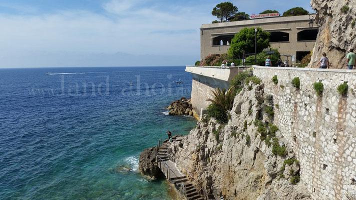 Monaco Parkhaus am Ozeanographischen Museum