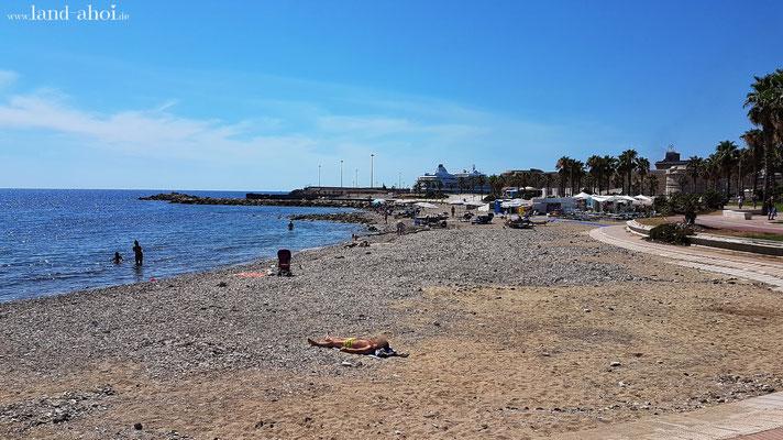 Strand am Forte Michelangelo