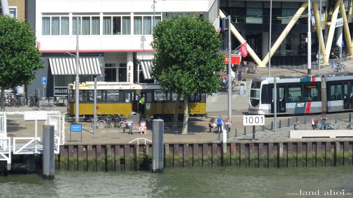 Rotterdam Straßenbahnlinie 7 und 10