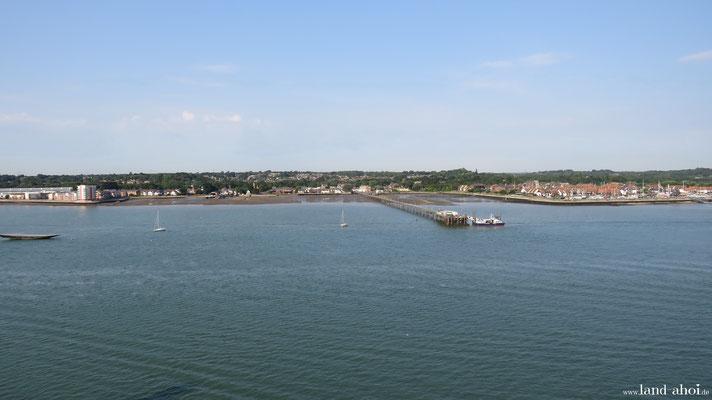 Southampton Hythe Fähranleger