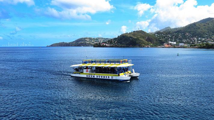 Grenada Ausflugsboot