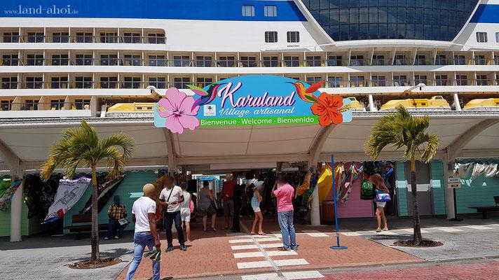 Guadeloupe Cruise Terminal Zugang