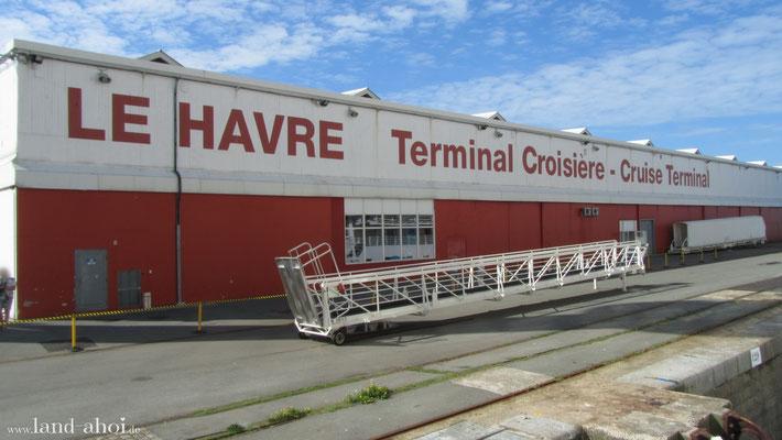 Le Havre Kreuzfahrt Terminal