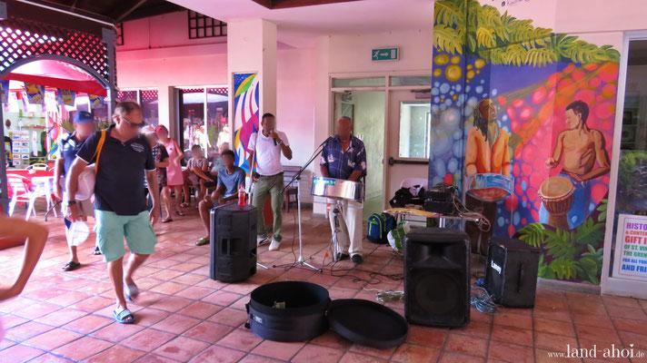 Live Musik im Cruise Terminal