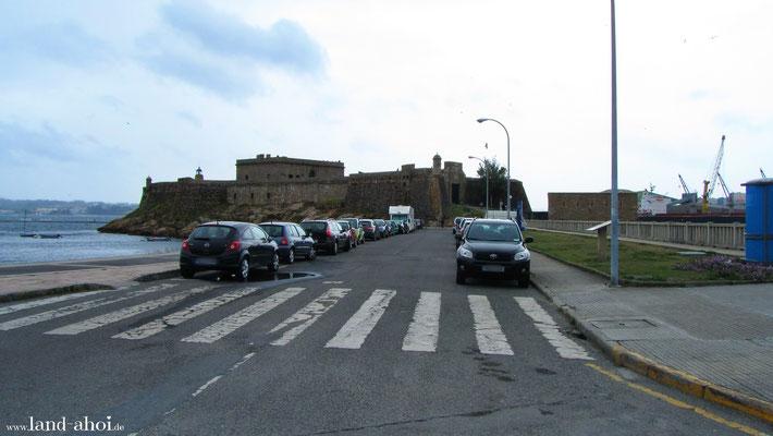 Castell San Anton Zugang