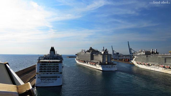 Civitavecchia Kreuzfahrthafen