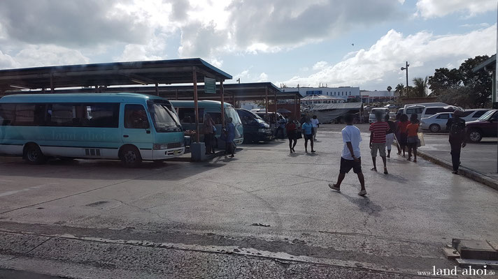 Antigua Saint John's West Bus Station