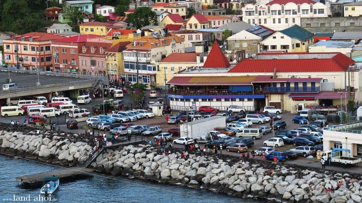 Grenada Liegeplatz St. George`s