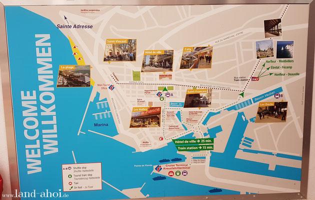 Le Havre Karte