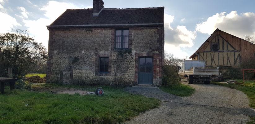 Rénovation générale d'une ancienne petite maison